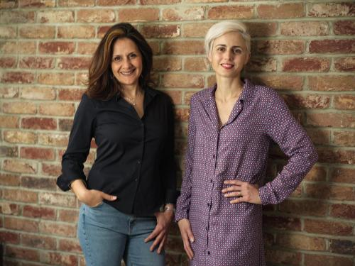 Two women - founders of iHelp