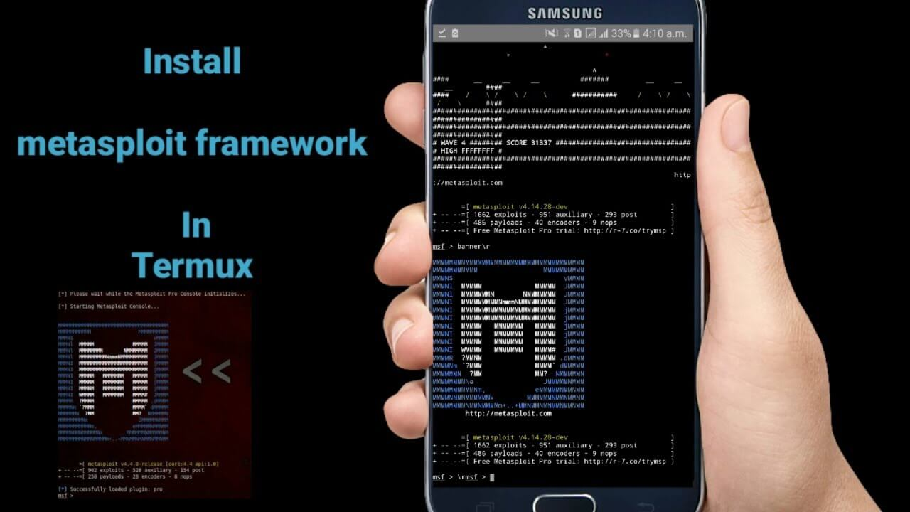 Metasploit For Android Termux