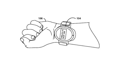 Smartwatch Blood Monitoring google patent