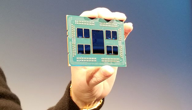 AMD Zen 2-Based EPYC 64-Core Server Processor