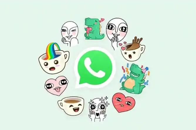 single whatsapp sticker