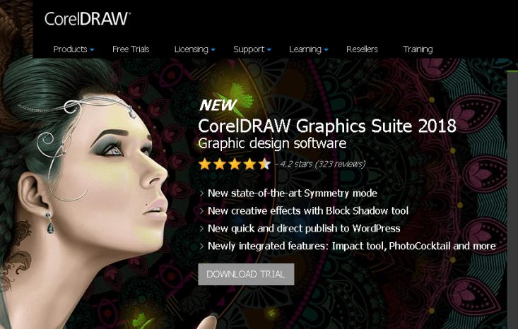 corel draw infographics