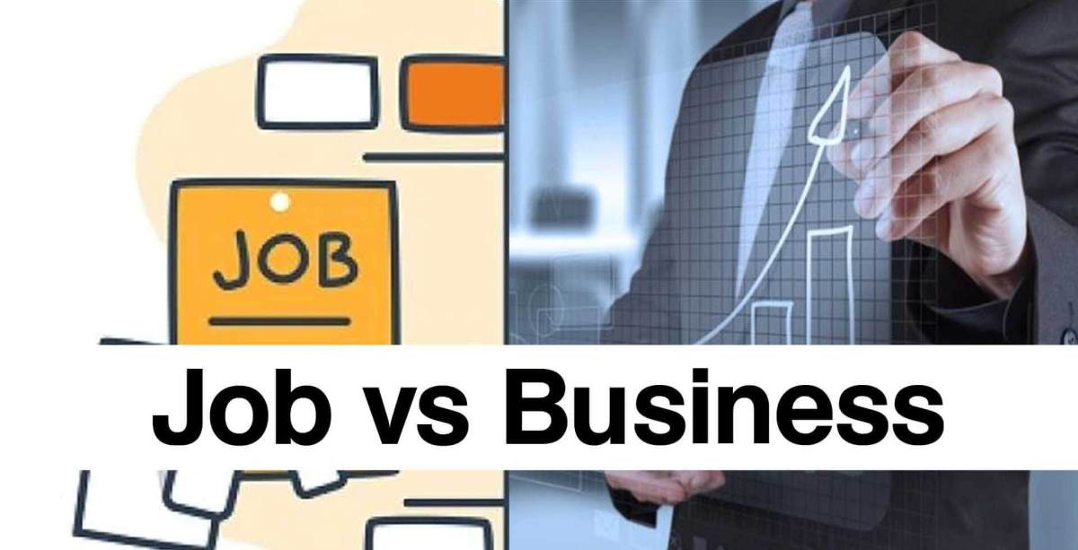 , How to Choose the Right Career ? Job v/s Business | Ground of Success