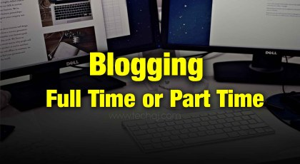 blogging full time job