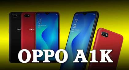 oppo a1k full specification