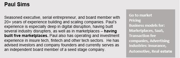 Paul Sims description
