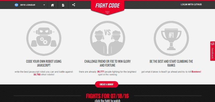 13 FightCode – Killing Robots for Fun
