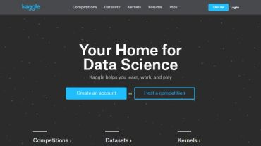 15 Kaggle- Your Home for Data Science