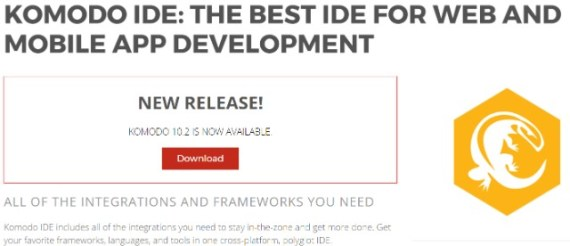 Komodo IDE The Best IDE for Web and Mobile App Development ActiveState
