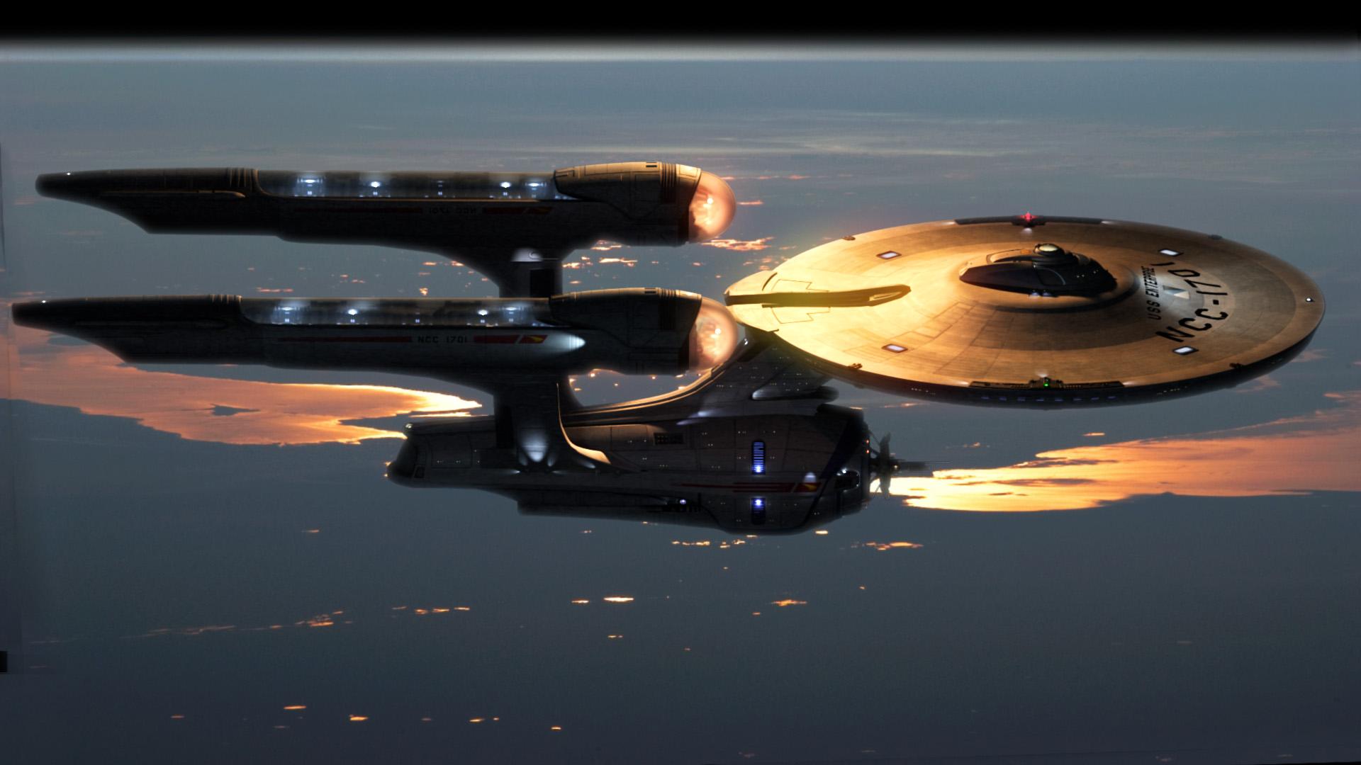 NCC-1701 A Enterprise do reboot.