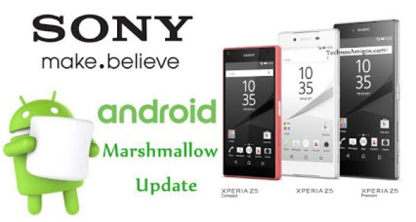 Sony Marshmallow updates