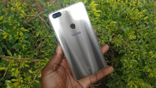 Tecno Phantom 8 back