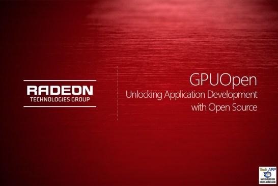 AMD GPUOpen Initiative - 3 New Developments
