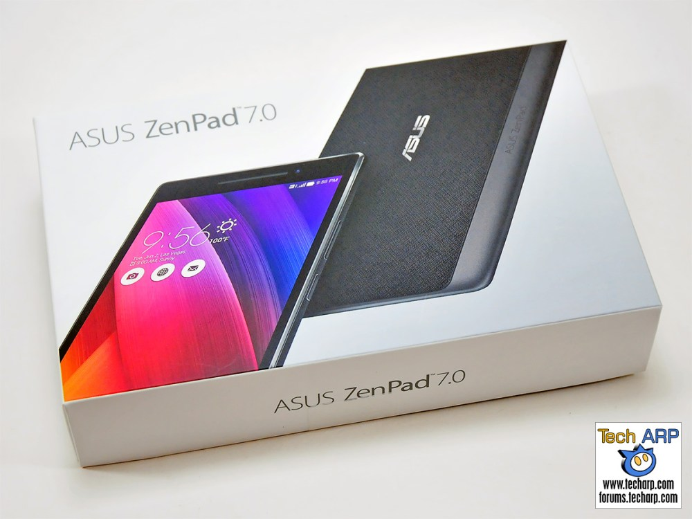 Unboxing the ASUS ZenPad 7.0 (Z370CG) tablet