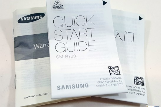 Samsung Gear S2 documents