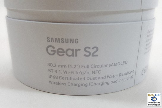 Samsung Gear S2 Box