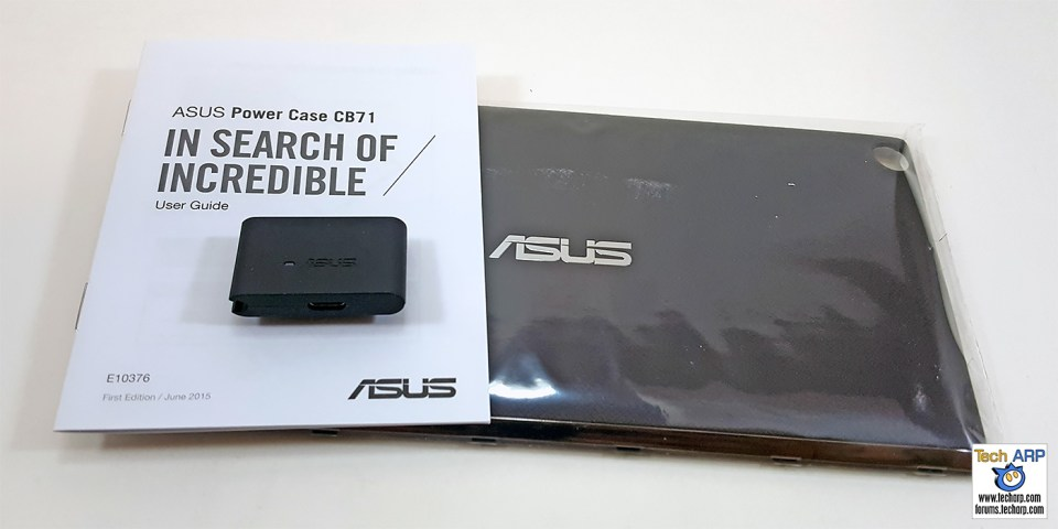 ASUS Power Case box contents