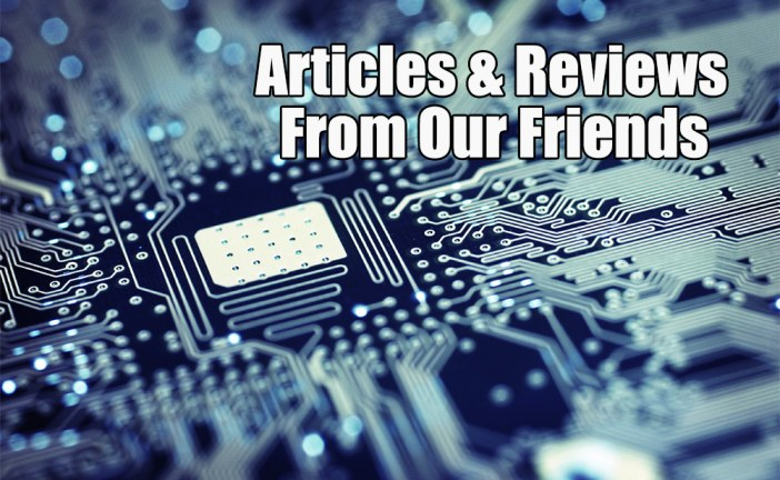 Articles & Reviews From Our Friends (12 Jan. 2016)