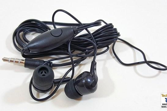 Alcatel Flash 2 earphones