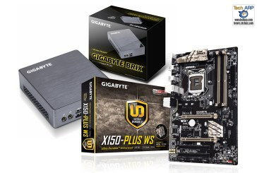 New GIGABYTE BRIX & Motherboards Launched