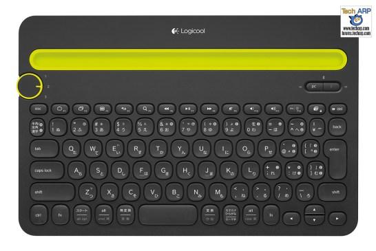 Logitech Wins Five 2015 Good Design Awards - Logitech Bluetooth Multi-Device Keyboard K480