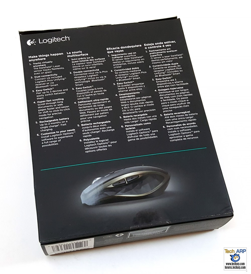 Logitech MX Anywhere 2 Box