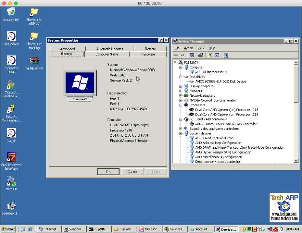 Old Tech ARP Server