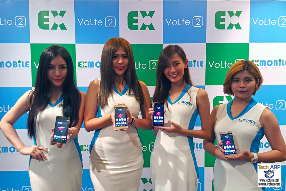 EXMobile VoLte 2 Smartphone & EX Watch Launched