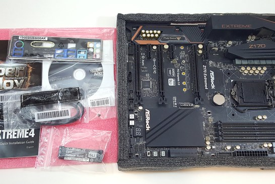 ASRock Z170 Extreme4 contents