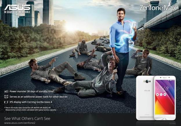 ASUS ZenFone Max Offers 38 Days Of Standby Time!