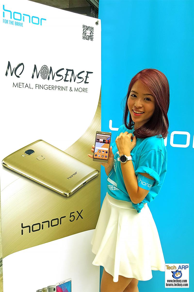 honor 5X, honor 7 Enhanced & honor Band Z1 Revealed