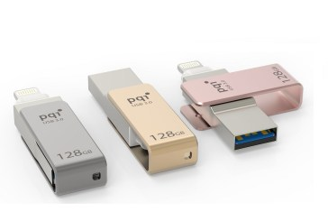 PQI iConnect mini - World's Smallest iPhone Drive