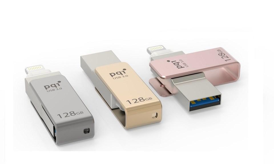 PQI iConnect mini - World's Smallest iPhone Drive