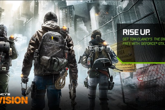 Get Tom Clancy's The Division Game Free With GeForce GTX