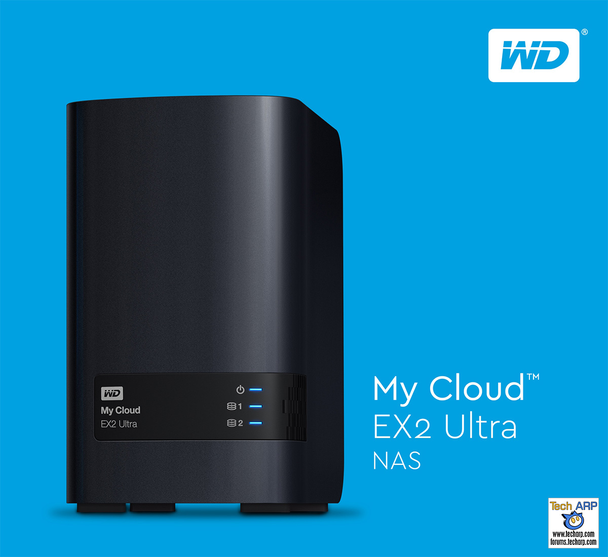 WD My Cloud EX2 Ultra Prosumer NAS Launched | Tech ARP