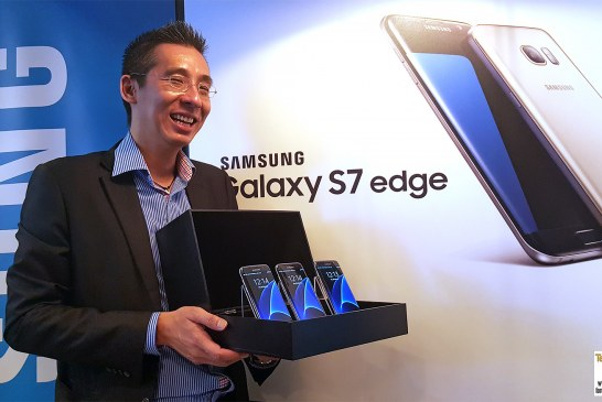 Samsung Galaxy S7 edge Smartphone Revealed