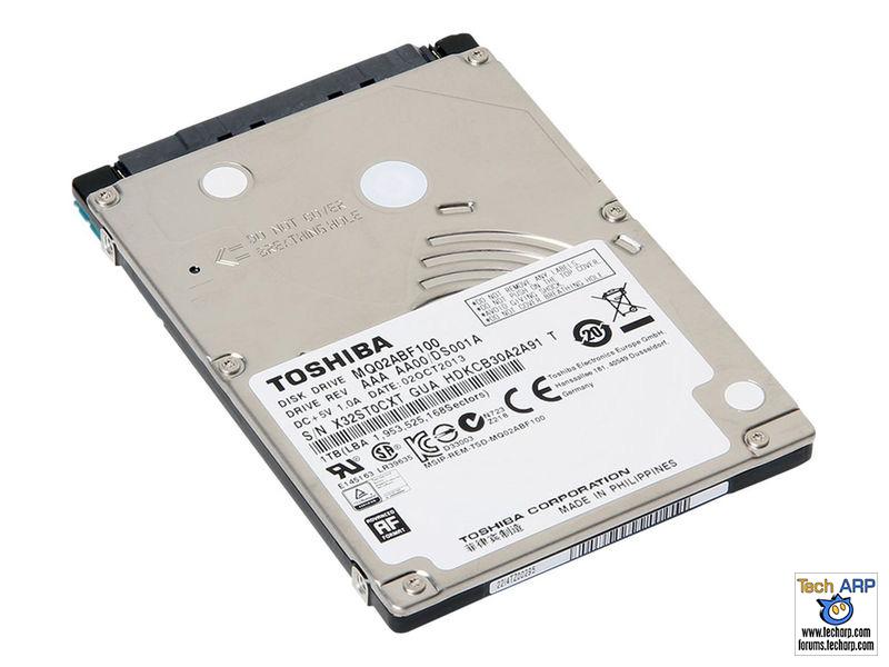 Toshiba MQ02ABF100 hard disk drive