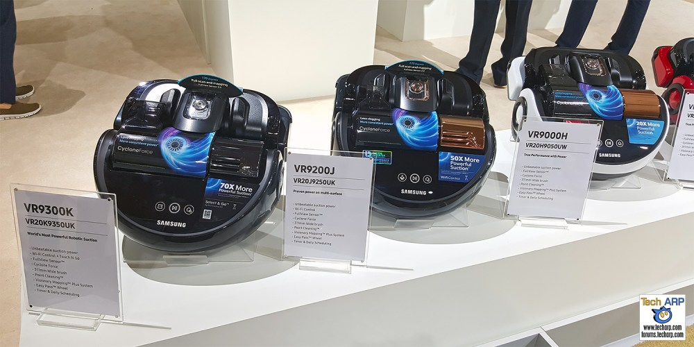 New Samsung VR9000 POWERbot Models Revealed