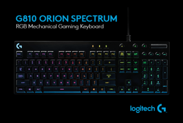 Logitech G810 Orion Spectrum Keyboard Launched