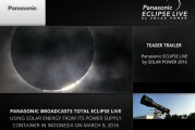 Panasonic Eclipse Live Broadcast By Solar Power