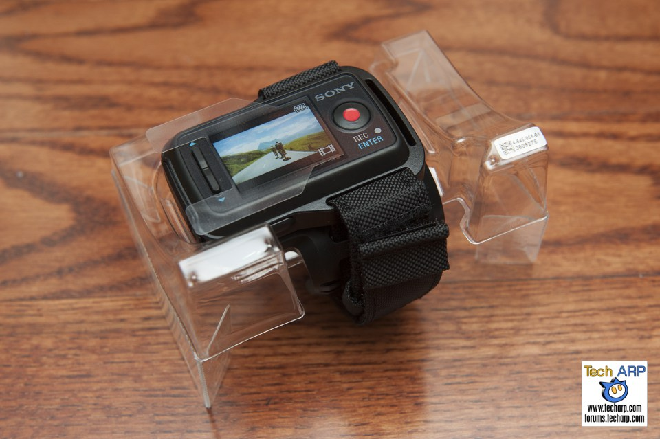 Sony FDR-X1000V Action Camera Remote Watch
