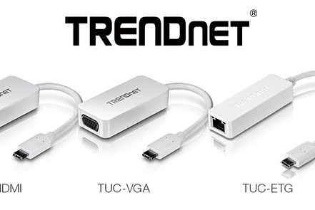 TRENDnet USB-C Adapters Launched