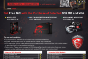 MSI Back To School Promotion For Malaysian Fans