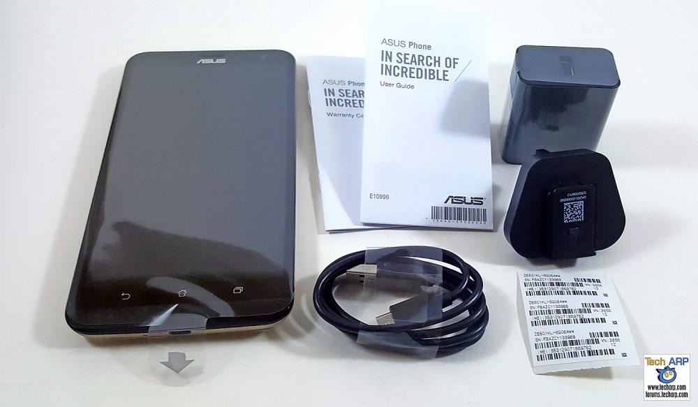 ASUS ZenFone 2 Laser (ZE601KL) Contents