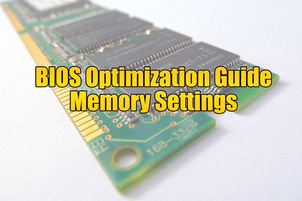 Dynamic Counter - BIOS Optimization Guide