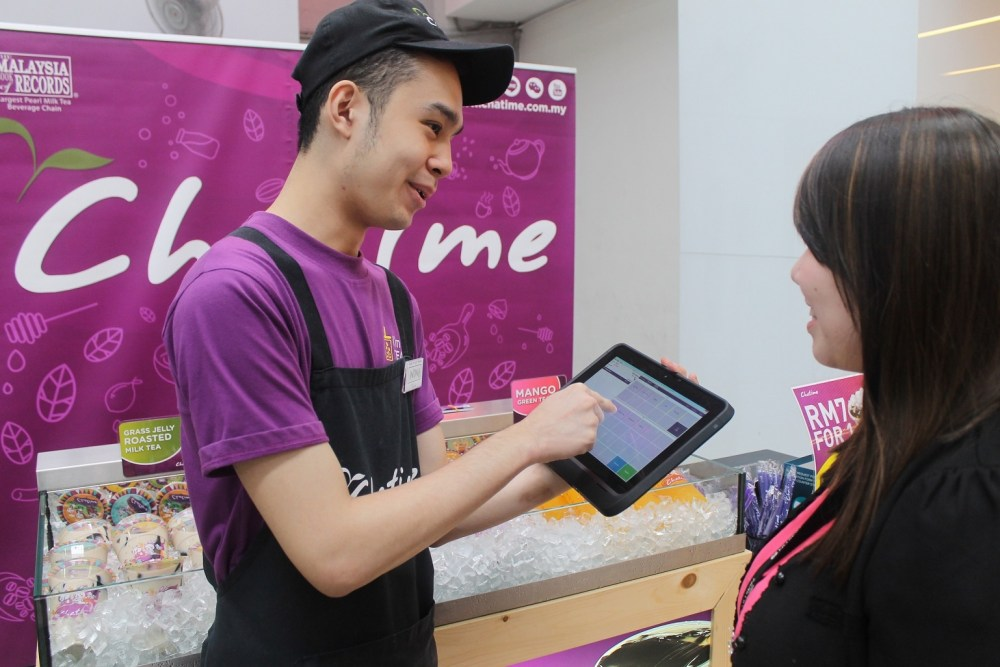 Chatime's Bubbling Success With Microsoft