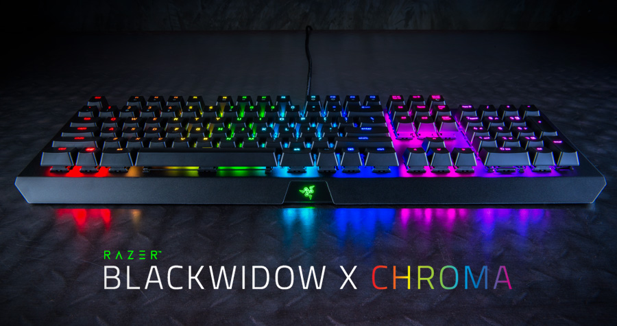 Razer BlackWidow X Keyboards Launched