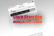 Clock Share Bug In iOS Allows Access To Data