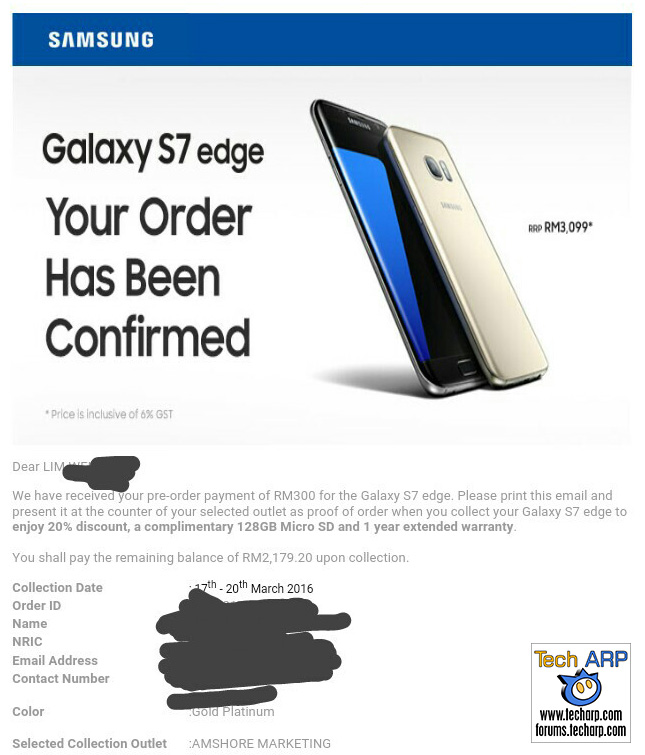 Email Snafu In Second Galaxy S7 edge Pre-Order