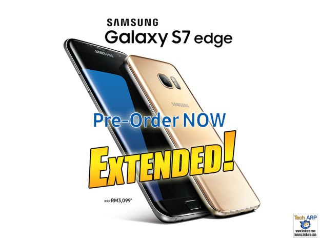 Samsung Galaxy S7 edge Pre-Order Extended With New Deal